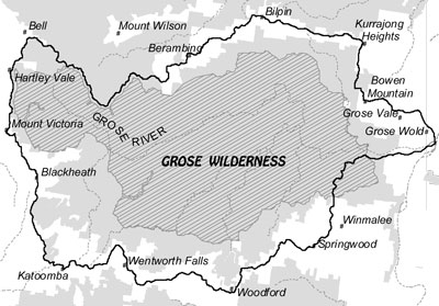 Grose Wilderness MAP